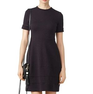 Yigal Azrouel Textured Black Dress